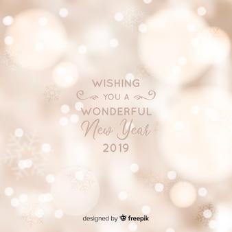 Zamazany nowego roku 2019 tło