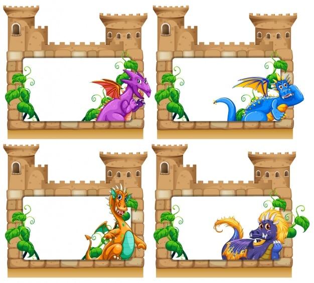 Zamek ramki kolekcji
