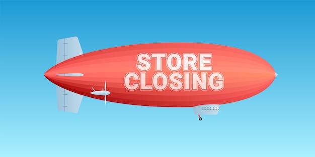 Zamknięcie sklepu