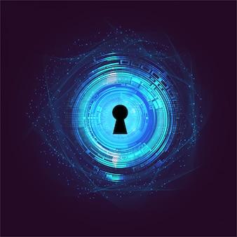 Zamknięta kłódka, bezpieczeństwo cybernetyczne