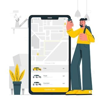 Zamów ilustrację koncepcji jazdy