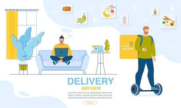 Zamów kolację online dostawa do domu baner
