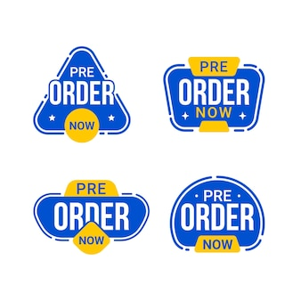 Zamów teraz w przedsprzedaży kolekcję odznak etykiet
