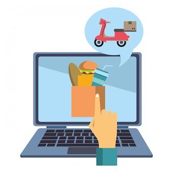 Zamówienie i dostawa żywności online