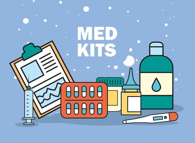 Zamówienie lekarskie i leki