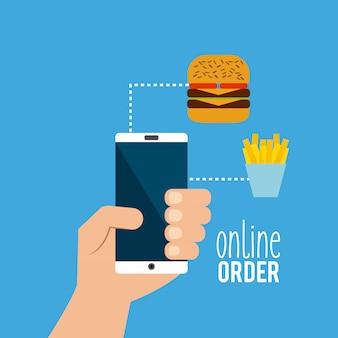 Zamówienie online menu restauracji