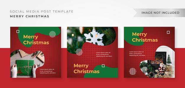Zapakuj szablon projektu świątecznego na instagram