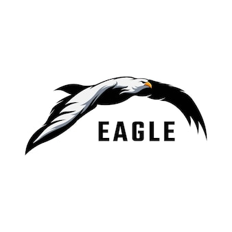 Zapas kreatywnego logo orła