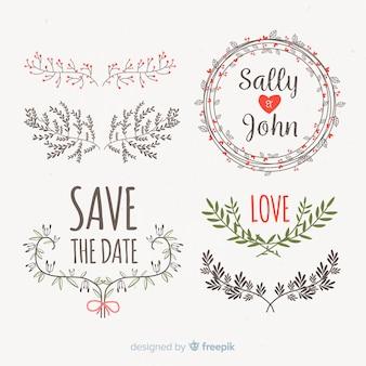 Zapisz datę kolekcji elementów dekoracyjnych