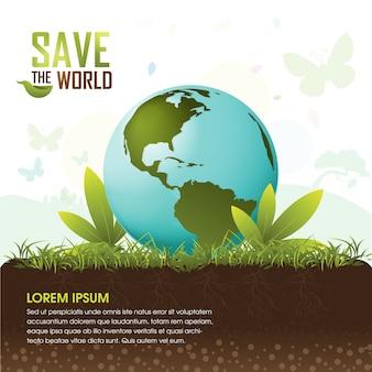 Zapisz koncepcję drzewa ekologicznego świata