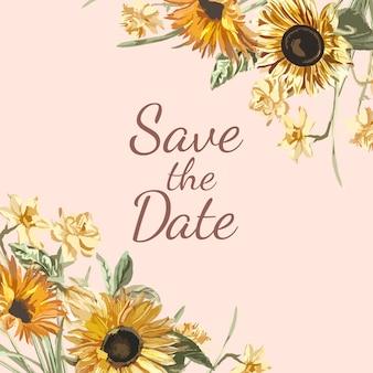 Zapisz makietę zaproszenia daty
