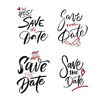 Zapisz projekt napisu z datą