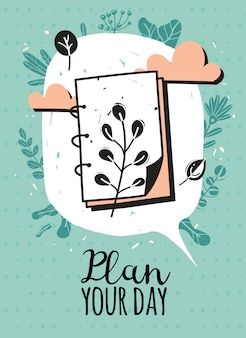 Zaplanuj swój dzień, pisząc z ilustracją