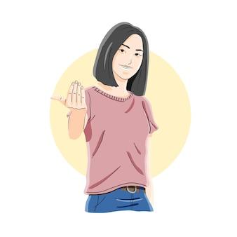 Zapraszający, witający, łączący gest