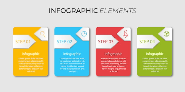 Zaprojektuj infografiki biznesowe firmy w 4 krokach