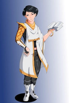 Zaprojektuj postać mistrza książki