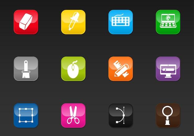 Zaprojektuj profesjonalne ikony internetowe do swojego projektu