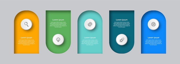 Zaprojektuj szablon elementu infografiki
