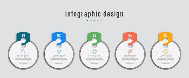 Zaprojektuj szablon elementu infographic
