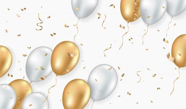 Zaproszenie, karta, świętować szablon.