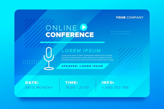 Zaproszenie na baner na seminarium internetowe