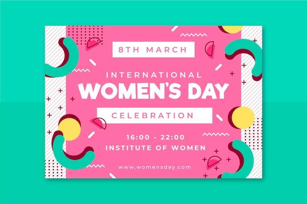 Zaproszenie na dzień kobiet w memphis