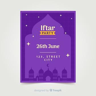 Zaproszenie na iftar