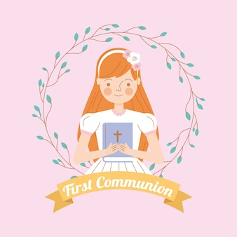 Zaproszenie na pierwszą komunię świętą
