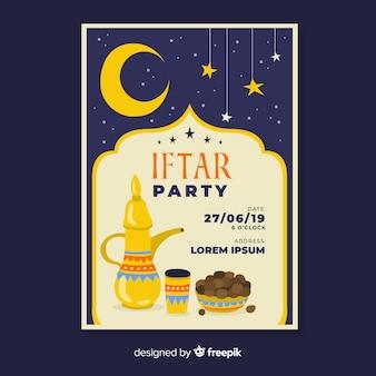 Zaproszenie na przyjęcie iftar