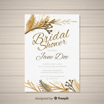 Zaproszenie na przyjęcie ślubne