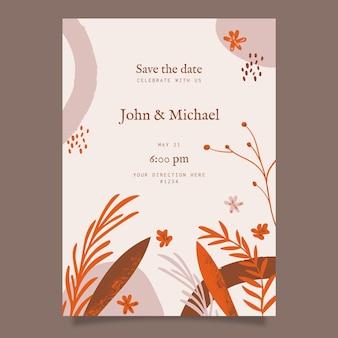 Zaproszenie na ślub boho