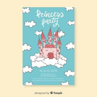 Zaproszenie na uroczą księżniczkę