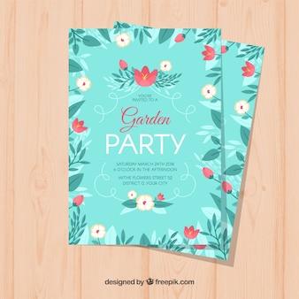 Zaproszenie na wiosenne zaproszenie do ogrodu