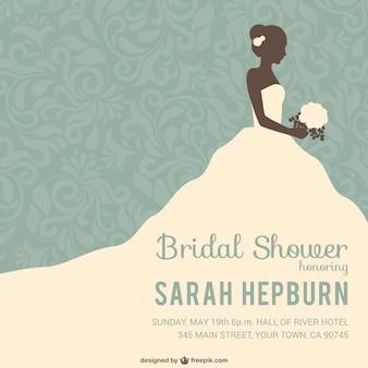 Zaproszenie prysznic dla nowożeńców