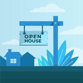 Zarejestruj się na otwarty dom