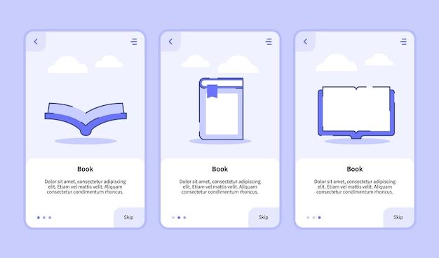 Zarezerwuj na stronę banerową szablonu aplikacji mobilnych