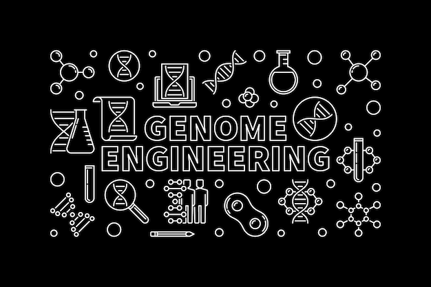 Zarys inżynierii genomu w poziomie