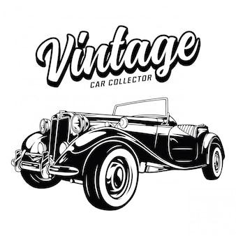 Zarys kolekcjonera zabytkowych samochodów