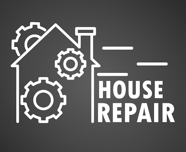 Zarys naprawy domu
