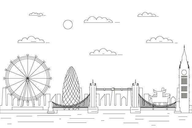 Zarys zabytków skyline