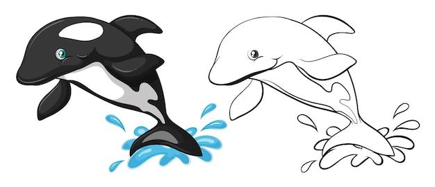 Zarys zwierząt dla wieloryba