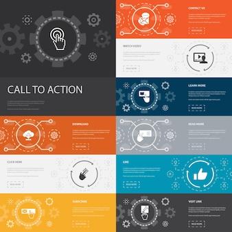 Zarządzanie czasem modny projekt linii infografiki z ikonami planowania kalendarza przypomnienia wydajności
