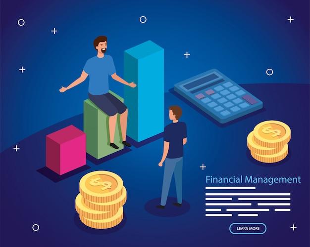 Zarządzanie finansami z mężczyznami i biznesem