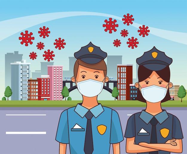 Zasady wiążą się z wykonywaniem zawodu przez pracowników przy użyciu masek na twarz