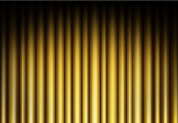 Zasłona złotego tła