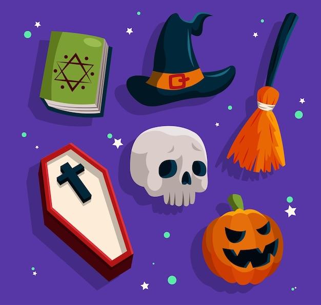 Zasób happy halloween dla powieści, historii i grafiki