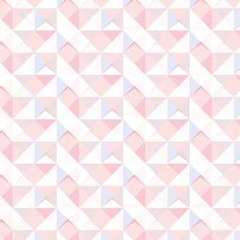 Zasób projektu tła bez szwu różowy geometryczny trójkąt wzorzyste