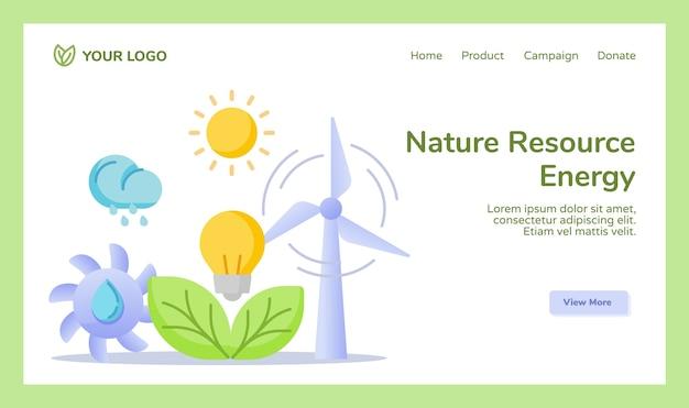 Zasób przyrody energia hydro wiatr słońce słoneczny liść