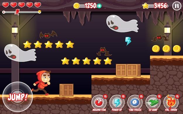 Zasoby gry spooky places