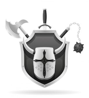 Zasoby starożytnej broni bojowej.